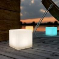 Mini Solar/USB Shapelight Cube