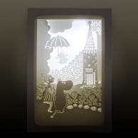"""Moomin Shadow Box """"Umbrella"""""""