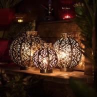 Morocco Globe Lantern
