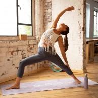 Myga Vegan Suede Yoga Mat - Chakra