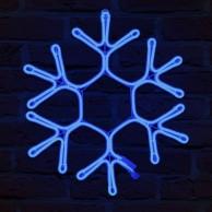 Neon Flex Snowflake 56cm