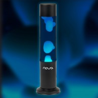 Nova Lava Lamp Blue