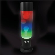 Nova Lava Lamp Rainbow
