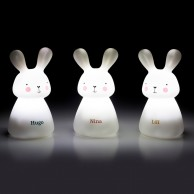 Rechargeable Bunny Night Lights (3 Pack)