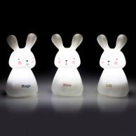 Rechargeable Bunny Nightlights (3 Pack)