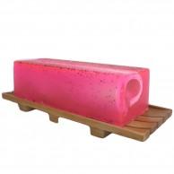 Oversized Mahogany Soap Tray