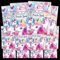 Unicorn Puzzle Books (12 pack)