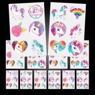Unicorn Temporary Tattoos (12 pack)