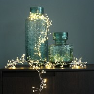 Pearl Cluster Battery Operated Fairy Lights