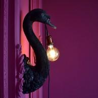 Petra Swan Wall Light