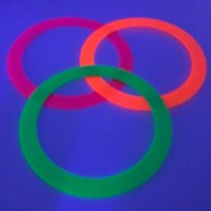 UV Neon Juggling Ring