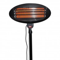 Patio Heater 2Kw Pole Mounted - Prem-I-Air