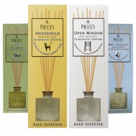 Price's Fresh Air Odour Neutralising Reed Diffusers