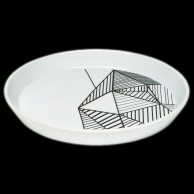 Pyro Pet Porcelain Plate