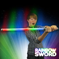 Light Up Rainbow Sword