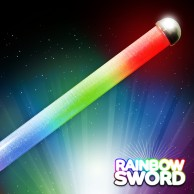 Flashing Rainbow Sword Wholesale