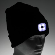 USB Rechargeable Beanie Hat