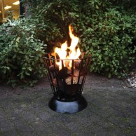 Reversible Fire Basket and Bowl