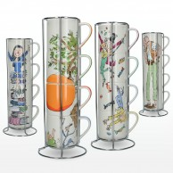 Roald Dahl Fine China Stacking Mug Sets
