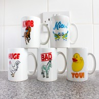 Say What You See Mugs
