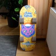 Skateboard Cat Scratcher