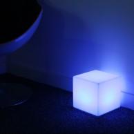 Rechargeable 20cm Mini Cube Lamp