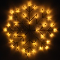 Snowflake Silhouette Light