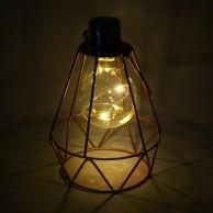 Solar Art Deco Lantern