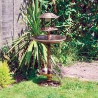 Solar Birdbath & Feeding Station