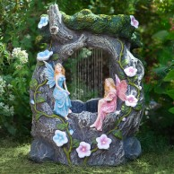 Solar Fairy Rainfall Fountain