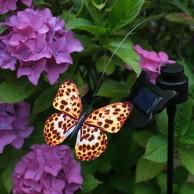 Solar Flutterby Butterfly Decoration