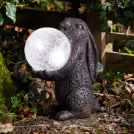 Solar Hare Magic Garden Light