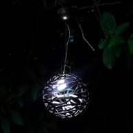Solar Infinity Hanging Light