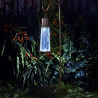 Solar Lighthouse Lantern Stake Light