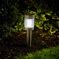 Solar Martini Garden Lights x 4