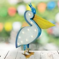 Solar Pelican Decoration