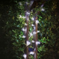Solar Powered 25 Orb Fairy Lights