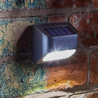 Solar Premier Fence, Wall and Post Light (4 pack)
