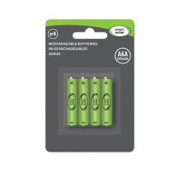 Solar AAA 600 mAh Batteries x 4