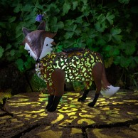 Solar Silhouette Fox