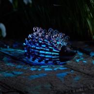 Solar Silhouette Hedgehog