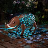 Solar Silhouette Warthog
