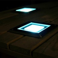 Solar Square Decking Light