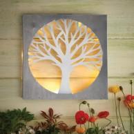 Solar Tree Wall Art by Eden Bloom