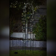 Solar 100 LED Trellis Tower