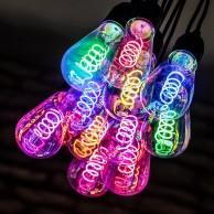 Spiral Funky LED Filament Bulb ST64 4W ES
