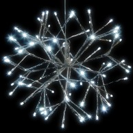 40cm Silver Sputnik LED Light