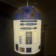 Star Wars R2D2 Paper Lampshade