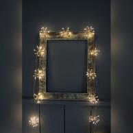 Starburst Silver Fairy Lights