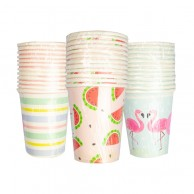 Summer Paper Cups x 12